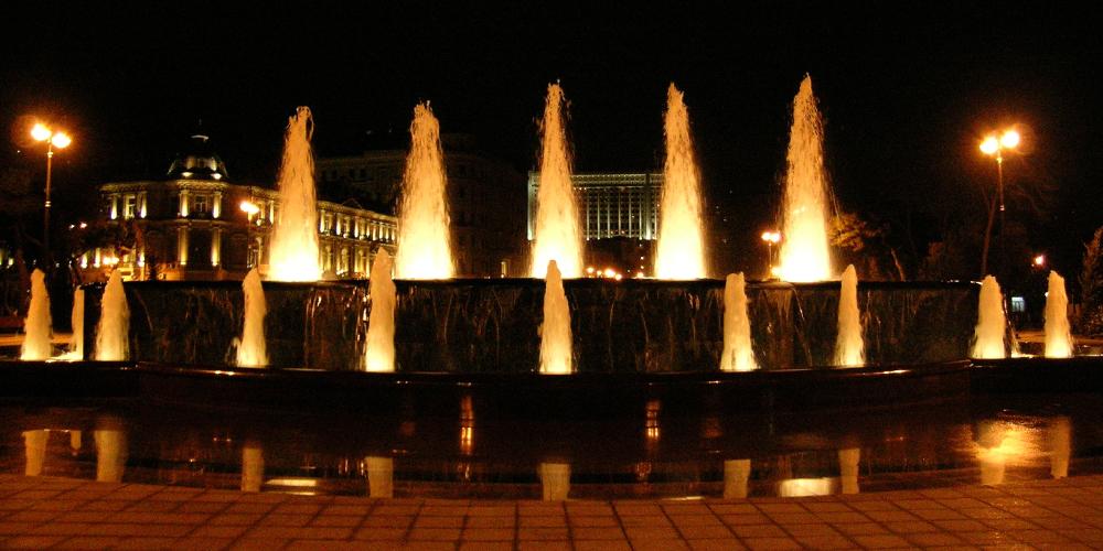 Fontana Azneft, Baku
